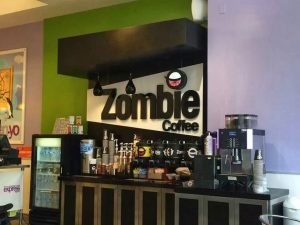 Photo via Facebook / Zombie Coffee and Donuts