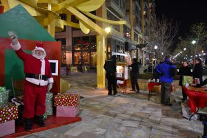 Santa Celebration photo via Mount Vernon Triangle CID