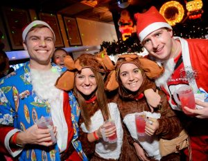 Santa Crawl, photo via Project DC Events